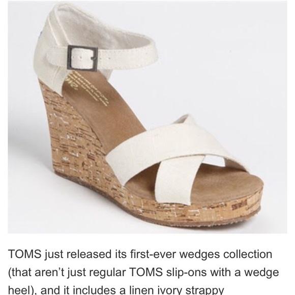 fa3bb96de41 Toms Wedding Wedges | Strandooginal